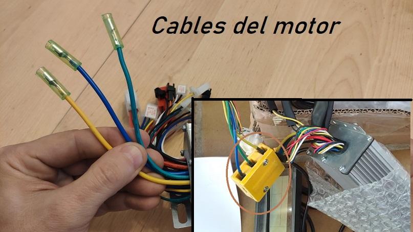 controlador cables motor