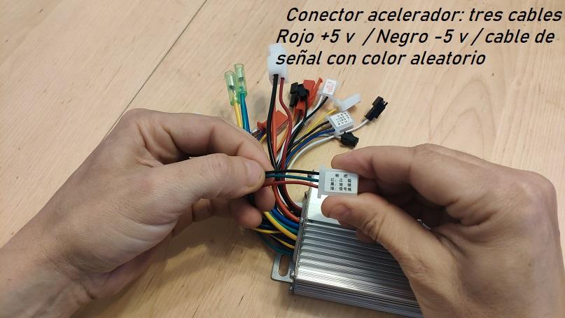 controlador conector acelerador