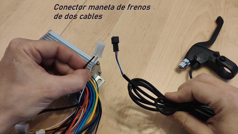 controlador ebike, maneta de frenos