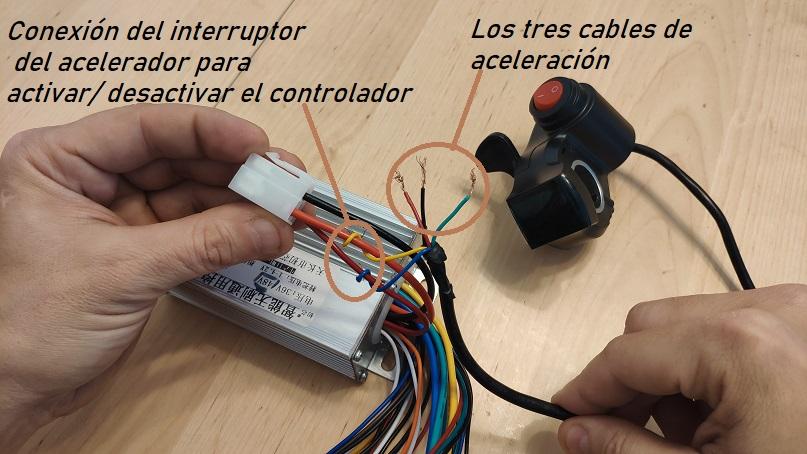 controlador conecxion acelerador