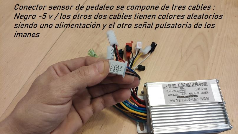 sensor pas controlador ebike