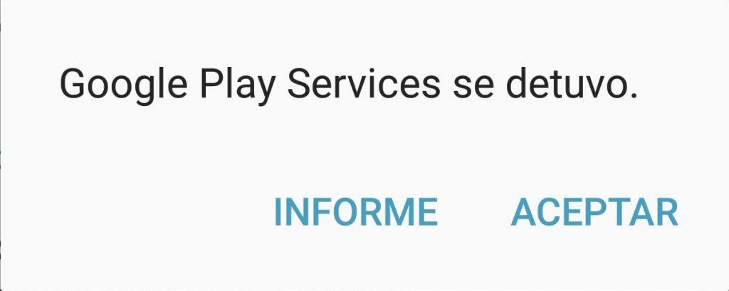 Google play se ha cerrado