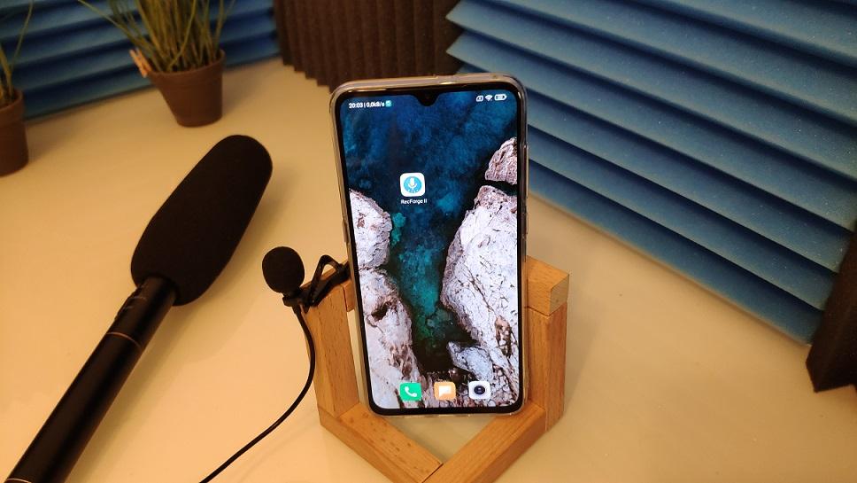 Conectar midrofono en android
