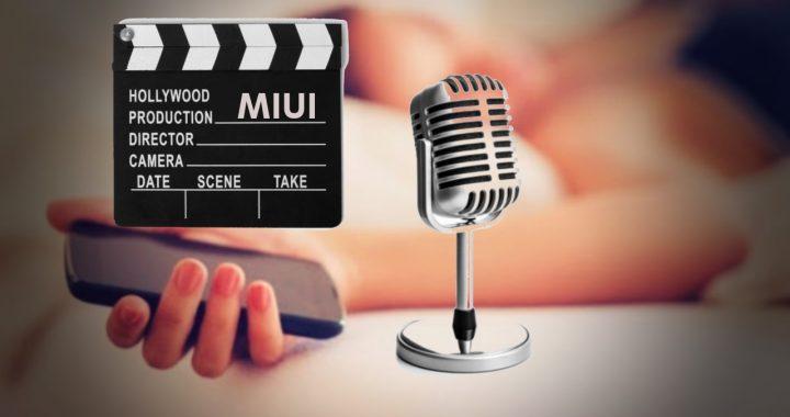 MIUI 12 se actualiza con una nueva función, grabar tus ronquidos
