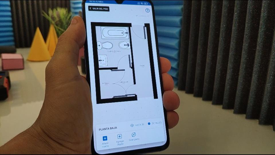 plano de una casa android