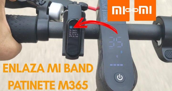 Conecta la pulsera Mi Band 5 a un Patinete Xiaomi M365/Pro