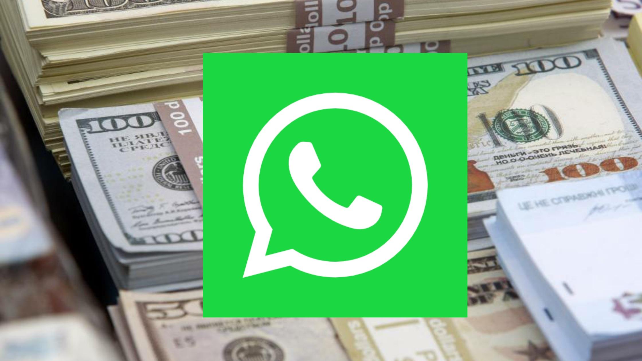 dinero whatsapp