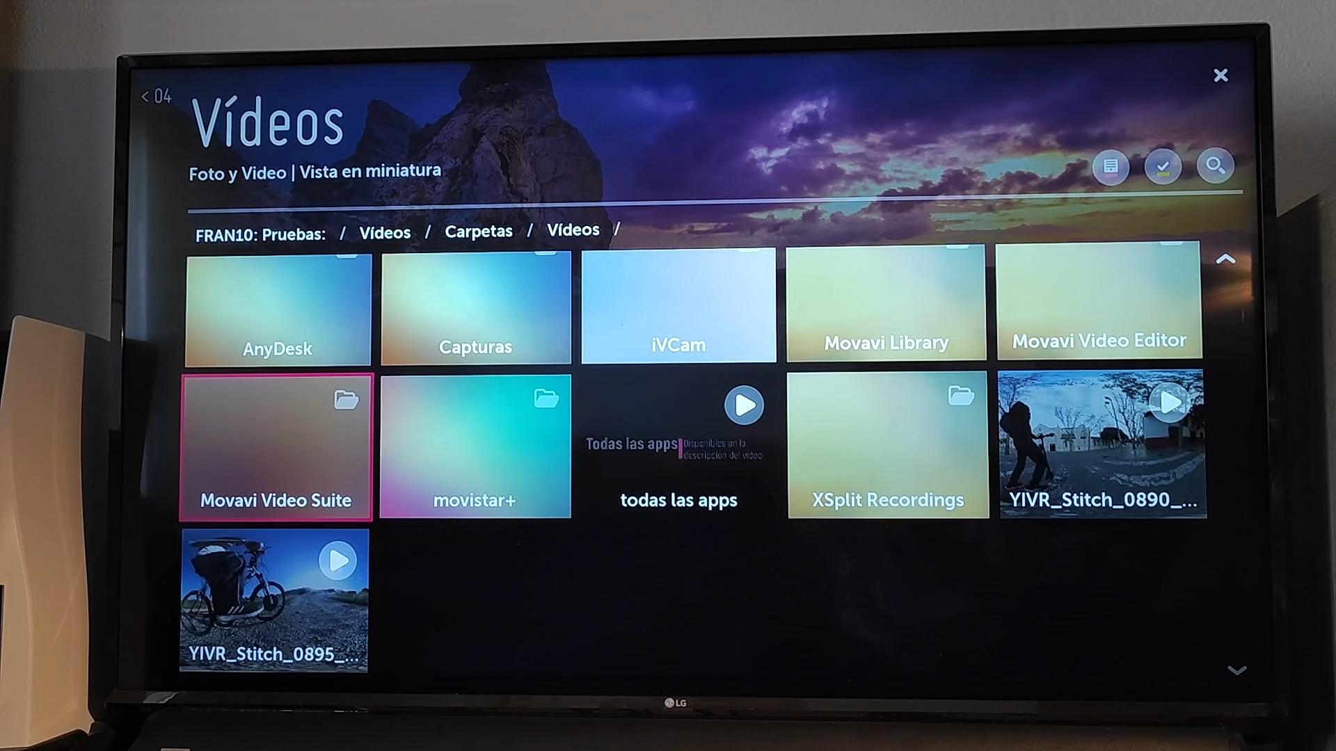 servidor multimedia windows a smarttv