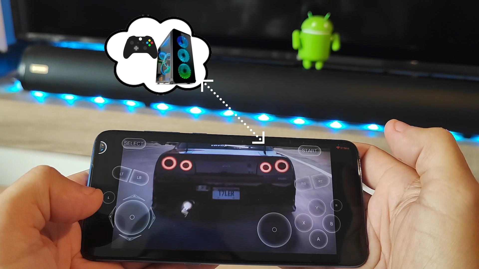 juegos en play station en android